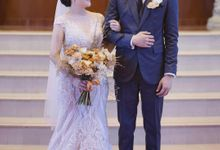 Wedding Of Vincent & Evelyn - Grassdoll Tulle by Greenbelle Souvenir