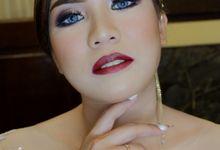 Bride SARAH by Kezia Evelina Larisa Makeup Artist