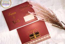 FARRA & YUDI (Maroon Minang Badge Luxury) by Sanggar Undangan