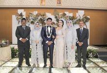 Wedding Pita & Zieco by Rosepetal Backdrop