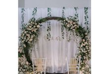 Engagement Gita & Rangga by Rosepetal Backdrop