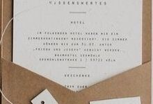 SOFIA & PETER (Neat Brown Thread Luxury) by Sanggar Undangan