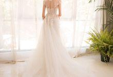 GRACE Dreamy Tulle Wedding Gown by dear gowns