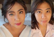 Party makeup For dr. Alin by Nikki Liem MUA