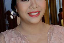 Sister's Makeup look by Kezia Evelina Larisa Makeup Artist