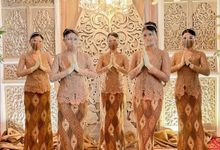 Penerima Tamu & Pagar Ayu - Wedding Anisa&Yudra by Beauty Usher