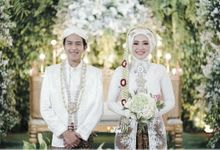 Wedding Of Dhini & Sidiq - Sukulen Buket Kertas by Greenbelle Souvenir