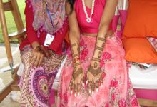 Bridal Henna Karina Raniga by Shitara Henna Bali