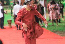 The Agbenyo's Wedding by Amasah Blankson