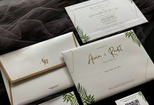 From the wedding of Airin & Radit by Moria Invitation