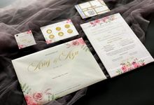 From the wedding of Arief & Ayu by Moria Invitation