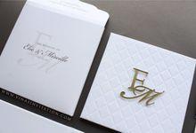 Elie & Mireille by Vinas Invitation