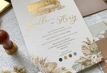 Tropical Sand by Trouvaille Invitation