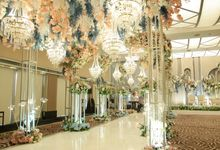 New Normal Wedding at Financial Hall by Financial Hall by IKK Wedding