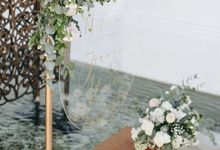 Wedding Decoration at St Regis by Joseph Photo by Red Gardenia