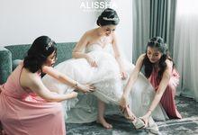 Wedding Day Via-Santo at Novotel Mangga Dua by Alissha Bride