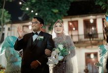 Outdoor Wedding Reception by MC Faiz