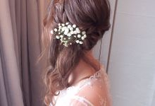 Bridal Makeup & Hairstyling for Bride Jessica & her Sisters and Mum by Makeupwifstyle