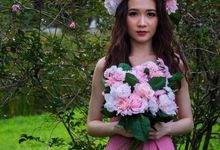 A Pink Fairy Bridal Photoshoot by Vera Morgana