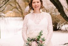 Elopement in Uppsala by Annelie Photography