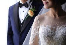 The Wedding of Andra and Vinesya by Laurent Agustine by LOTA