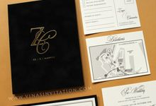 Zaya & Cassandra by Vinas Invitation