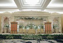 WEDDING OF ANJANI & BERMAN by Menara Mandiri (Ex. Plaza Bapindo) by IKK Wedding