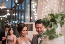 Yonas & Priska Wedding by KAIA Cakes & Co.