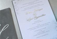 Steven & Helen by Vinas Invitation