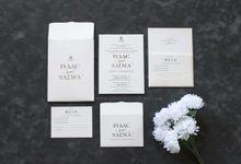Isaac & Salwa by Vinas Invitation