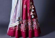 Indian Bridal Wear by NehaChavan Design Studio