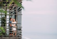 Renewal Vows of Wesley & Michala by Alila Villas Uluwatu