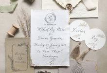 Roy & Devina Invitation Suite by Tulisanana Calligraphy