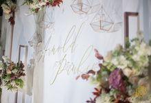 Wedding of Arnold & Paulina by Alleka Design