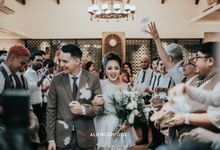THE WEDDING OF MARCELL DARWIN & NABILA FAISAL by alienco photography