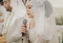 Akad of Winni & Azi by  Menara Mandiri by IKK Wedding (ex. Plaza Bapindo)