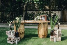 Wedding Styling at Pandawa Cliff Estate by baliVIP Wedding