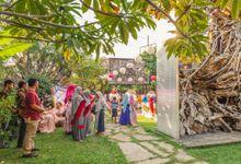 Nicholas & Nadia Wedding by Artistic Garden Bali