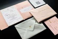 From the wedding of Arif & Tissia by Moria Invitation