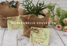 Wedding Of Calvin & Herlin - Sukulen Buket Goni by Greenbelle Souvenir
