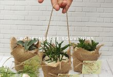 Wedding Calvin & Herlin - Sukulen Buket Goni by Greenbelle Souvenir