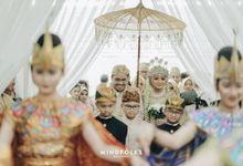 SUNDANESE WEDDING OF INDA & ADE by  Menara Mandiri by IKK Wedding (ex. Plaza Bapindo)