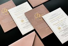 From the wedding of Dinda & Fatih by Moria Invitation