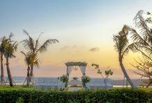 Beach View Wedding Venue by The Haven Suites Bali Berawa Weddings