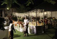 Yuma & Chiko Wedding Reception by KORI Catering