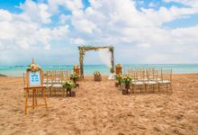 Rustic Wedding Ceremony by Tijili Benoa Hotel