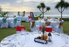 Wedding Dinner of Yuliana and Adrian by WakaGangga Resorts