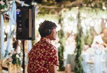 WEDDING DINNER of Jim & Agnes at Four Seasons Resort Bali 2018 by DJ PID