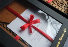 Mayang & Endy Customize Wooden Notebook as Wedding Favours by Urimemento Indonesia