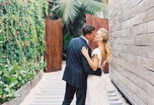 Relaxed and modern destination wedding by Alesia Solo Make Up Artist & Hairstylist